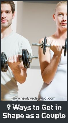 Exercise for Couples - 9 Ways to Get in Shape Together! #fitness #exercise
