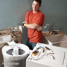 Fix 90 percent of clothes washer breakdowns with these four easy fixes—including filling and draining problems, grinding noises and a failure to spin. You'll avoid the $80 - $150 service call.