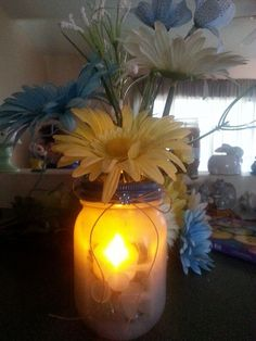 mason jar project for spring