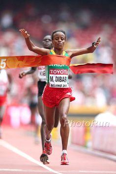 Leichtathletik-WM Peking 2015: Äthiopierin Mare Dibaba gewinnt Marathon in Peking