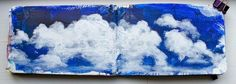 Moleskine Monday - Up In the Clouds