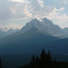There are several national parks in the Canadian Rockies.