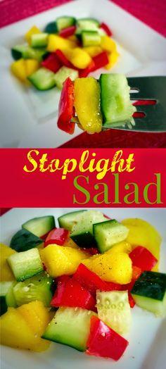 Twitchetts: Stoplight Salad