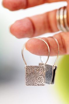 Silver Earrings, Square Earrings, Floral Earrings Tapestry E. - Silver Earrings, Square Earrings, Floral Earrings Tapestry Earrings Drop Earrings Dangle Earrings H - Art Deco Jewelry, Fine Jewelry, Jewelry Design, Jewelry Stand, Jewelry Box, Jewlery, Yellow Engagement Rings, Silver Jewellery Online, Jewelry Sites