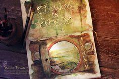 The world is ahead... by Kinko-White.deviantart.com on @DeviantArt