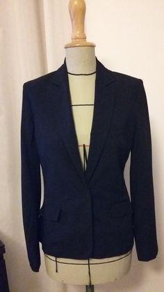 563852a33b44e Veste tailleur  blazer bleu marine Christian DIOR taille 38 - vinted.fr