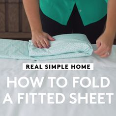 How to Fold a Fitted Sheet Home Tips and Tricks, J. Menn, Home Tips and Tricks So falten Sie ein Spannbetttuch