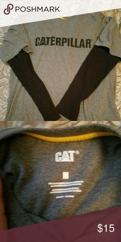 CAT long sleeved the shirt Doesn't fit anymore. Only worn twice. Caterpillar Shirts Tees - Long Sleeve
