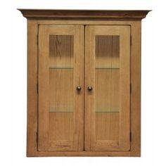 Oakhampton Chunky Oak Corner Cabinet. Henley Oak Small Sideboard Top