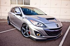 Mazdaspeed3 with H&R coilovers