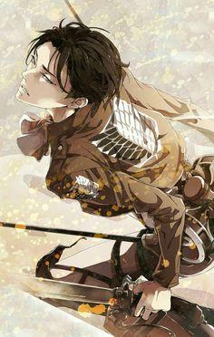 Levi Ackerman - Attack on Titan - Shingeki no Kyojin Otaku Anime, Manga Anime, Fanart Manga, Film Anime, Anime Art, Levi Ackerman, Attack On Titan Fanart, Attack On Titan Levi, Shippuden Sasuke Uchiha