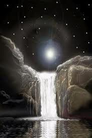 mystical waterfalls -