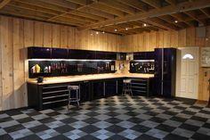 Pole Barn Garage, Garage Loft, Garage Shelf, Garage Cabinets, Garage House, Dream Garage, Garage Storage, Garage Workshop Plans, Garage Workshop Organization