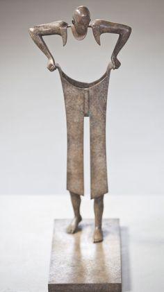 Hitesh Durgani : Photo Installation Art, Surrealism Sculpture, French Sculptor, Simon Cowell, Achieve Success, Negative Space, Statues, Sculpture Metal, Contemporary Sculpture