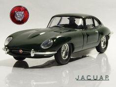 GREEN JAGUAR E TYPE 1962 Altaya 1//43 SCALE DIECAST METAL MODEL