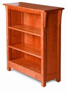 Free plan: Arts & Crafts book case by Fine Woodworking