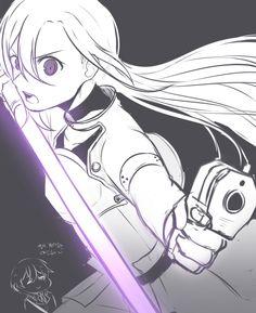 Sinon Ggo, Gun Gale Online, Sword Art Online Kirito, Online Images, Pose Reference, Drawing Tips, Otaku, Fantasy, Manga