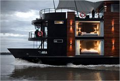 Aqua Expeditions, Luxury Amazon Cruises -- embark on board this luxury floating hotel for a magical cruise down the Amazon -- that would be AMAZING!!