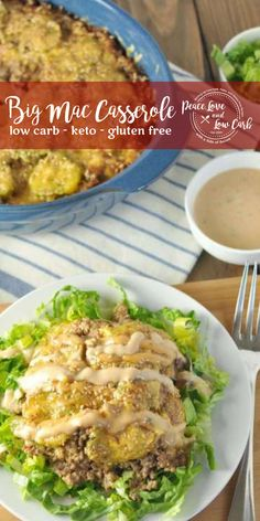 low carb yum This Low Carb Big Mac Casserole has all the flavor of a Big Mac without all the carbs and fast food additives! It's delicious, and kid and husband approved. Low Carb Meal, Low Fat Low Carb, Low Fat Diets, Keto Meal, Low Carb Hamburger Recipes, Low Carb Recipes, Diet Recipes, Healthy Recipes, Diet Meals