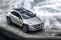 """Mercedes-Benz ha mostrado en el """"Auto Shanghai"""" un SUV de clase premium con el Concept GLA."""
