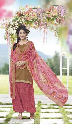 Buy Sublime Beige Patiala Salwar Kameez online at  https://www.a1designerwear.com/sublime-beige-patiala-salwar-kameez  Price: $22.38 USD