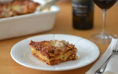 TESTED & PERFECTED RECIPE -- A classic lasagna with rich flavors that won't take all day to prepare.