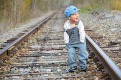 Little Boy 3rd Birthday train Photos!