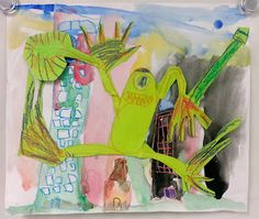 Art with Ms. Gram: Monsters Don't Eat Broccoli II (2nd)
