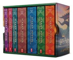 Harry Potter Paperback Boxed Set # 1-7 - Paperback - The Scholastic Store #Read11Books