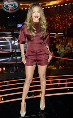 Earth Goddess from Jennifer Lopez's American Idol Looks | E! Online