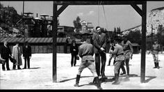 Camp Commandant SS-Hauptsturmfuhrer Amon Goeth is executed not far from the site of his Krakow-Plaszow concentration camp. World History, World War Ii, Nuremberg Trials, Schindler's List, Lest We Forget, War Machine, Military History, Vintage Photographs, Old Pictures