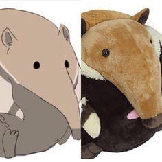 Congratulations to illustration senior Emily Miner! Her winning anteater design is now a @squishable stuffed animal! www.Montserrat.edu/blog