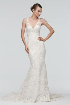 Can't decide between the nude, ivory, or blush lining, BUT this might be my DREAM wedding dress.   #MumuXWattersX100LC  Watters Brides Georgia Gown