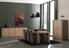 BALTIMORE - eettafel, dressoir, barkast | Meubelen Crack