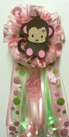 Jacana Monkey Girl Theme Corsage cakepins.com