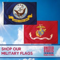 Military and Memorial Flags - U. Military Flags, Military Gifts, Flag Display Case, Us Flags, Flag Store, Military Branches, Prisoners Of War, Outdoor Flags
