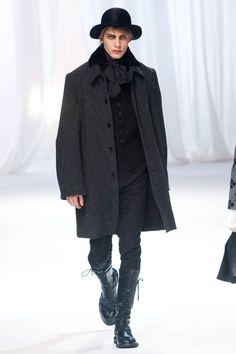 Ann Demeulemeester Fall 2013 Menswear Collection