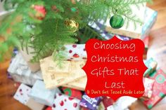 Choosing Christmas Gifts That Last | Love these ideas for gifts that won't get tossed aside the next day! #eBayGuides #ad