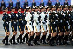 Xi Says China No Threat, Announces Military Cuts at Parade.(September 3rd 2015)