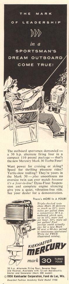 https://flic.kr/p/RhusCh | 1956 Mercury Outboard Motor Advertisement Time April 2 1956 | 1956 Mercury Outboard Motor Advertisement Time April 2 1956