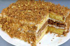 Торт со сгущенкой быстрого приготовления - Jemchyjinka.ru