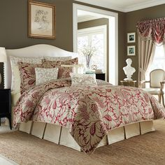 Have to have it. Croscill Avery Comforter Set - $249.99 @hayneedle