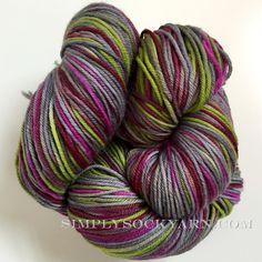 Simply Socks Yarn Company - AF SS  Manzanita, $28.00 (http://www.simplysockyarn.com/af-ss-manzanita/)