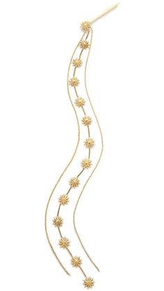 12 best hair accessories: Strings Attached; Lelet NY Cadet Metal Tassel Hair Pin.