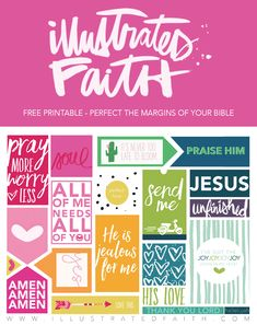 We have a bunch of things in the works to celebrate Illustrated Faith's first birthday (all week!!!!) including giveaways and freebies but we wanted to make sure we had something that EVERYONE could grab and so we created this free printable for you to use as you Illustrated your Faith!!! Have fun creating and make sure to use #illlustratedfaith and …
