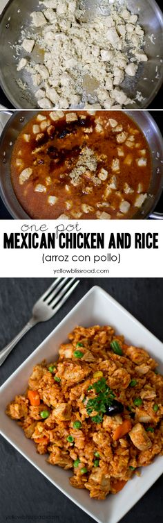One Pot Mexican Chicken and Rice