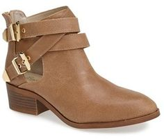 Seychelles 'Scoundrel' Distressed Leather Bootie (Women) on shopstyle.com