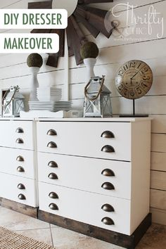 Blogger Thrifty and Chic is a magician of design with this DIY dresser makeover that incorporates unique finishings. This updated style would look stunning anywhere in your home, from the entryway to the guest bedroom.