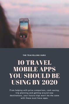 There are thousands of travel mobile apps available nowadays and you can spend days on end trying to seek out the worthy ones. We wanted to take that stress away from you by offering our top 10 travel mobile apps. From helping with price comparison, cash saving, trip planning and getting around new destinations, your future trips won't be the same with these must-have apps. #travelmobileapps #travelhacks #traveltips