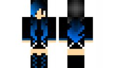 minecraft skin goth-girl Check out our YouTube : https://www.youtube.com/user/sexypurpleunicorn